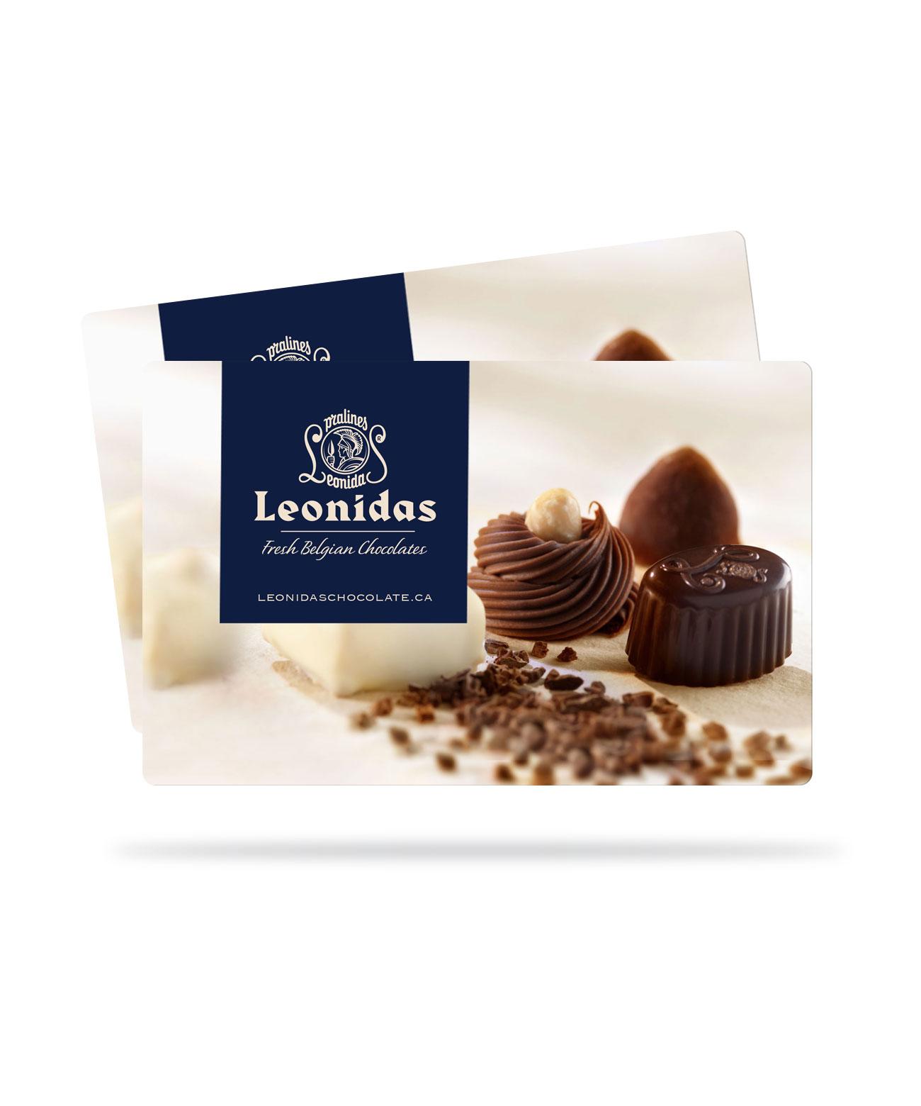 Leonidas In Store Gift Cards Leonidas Chocolates